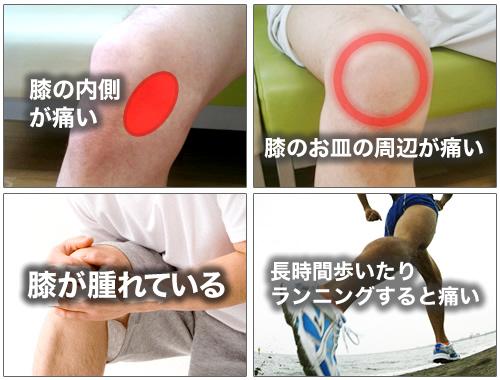 鵞足炎 症状